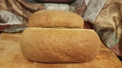 seven grain bread loaf